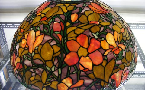 Restauratie Tiffany lamp